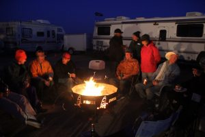 Team USA, Ivanpah Campsite